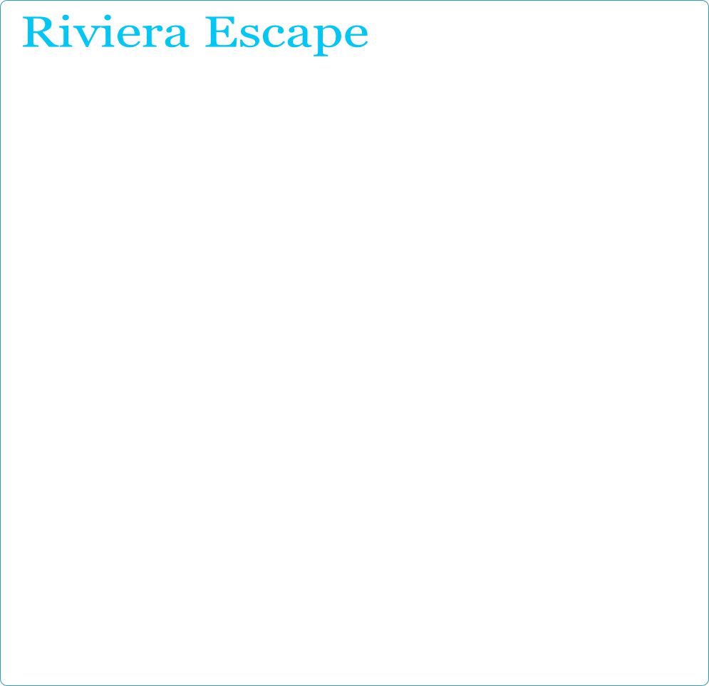 Riviera Escape